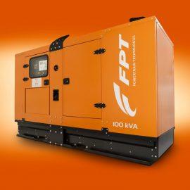 Soundproofed generator set N-45/GSNEF series